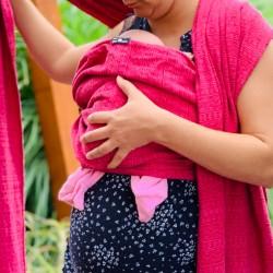 Kurz pro těhotné – nošení v šátku od narození